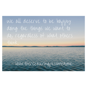 The Recovering Pessimist: Live YOUR Truth-- We all deserve to be happy, regardless of what others think.   www.therecoveringpessimist.me #amwriting #recoveringpessimist