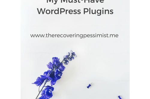 The Recovering Pessimist: My Must-Have WordPress Plugins -- Plugins are like spices. There's a lot of work that goes into curating the perfect combination of plugins that work together to make your blog run smoothly. Add a plugin that doesn't fit and chaos ensues. I may be able to help you avoid the chaos. | www.therecoveringpessimist.me #amwriting #recoveringpessimist #optimisticpessimist