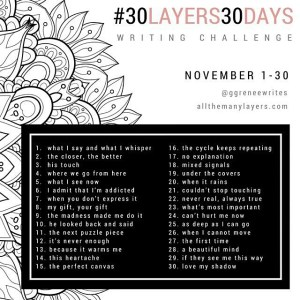 The Recovering Pessimist: #30Layers#30Days Writing Challenge -- I'm looking forward to peeling away the layers...poetically. | www.therecoveringpessimist.me #30layers#30days #amwriting #recoveringpessimist #optimisticpessimist