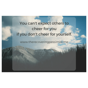 The Recovering Pessimist: Celebrate ALL of Your Wins. -- Take time to celebrate your accomplishments. | www.therecoveringpessimist.me #amwriting #recoveringpessimist #optimisticpessimist