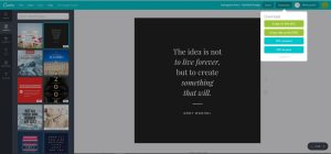 My Favorite Blogging Tools Part 2: Canva Download Options