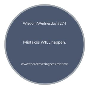 "The Recovering Pessimist | ""Wisdom Wednesday #274"" 
