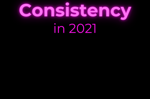 The Recovering Pessimist | Consistency in 2021 | www.therecoveringpessimist.me | #amwriting #recoveringpessimist #optimisticpessimist