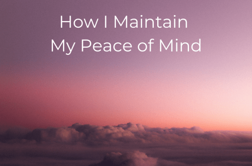 The Recovering Pessimist | How I Maintain My Peace of Mind | www.therecoveringpessimist.me | #amwriting #recoveringpessimist #optimisticpessimist