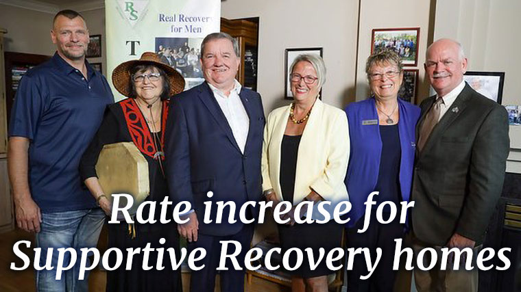 Rate increase coming to supportive recovery homes