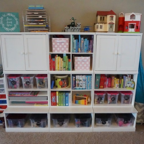 Organizing the Playroom