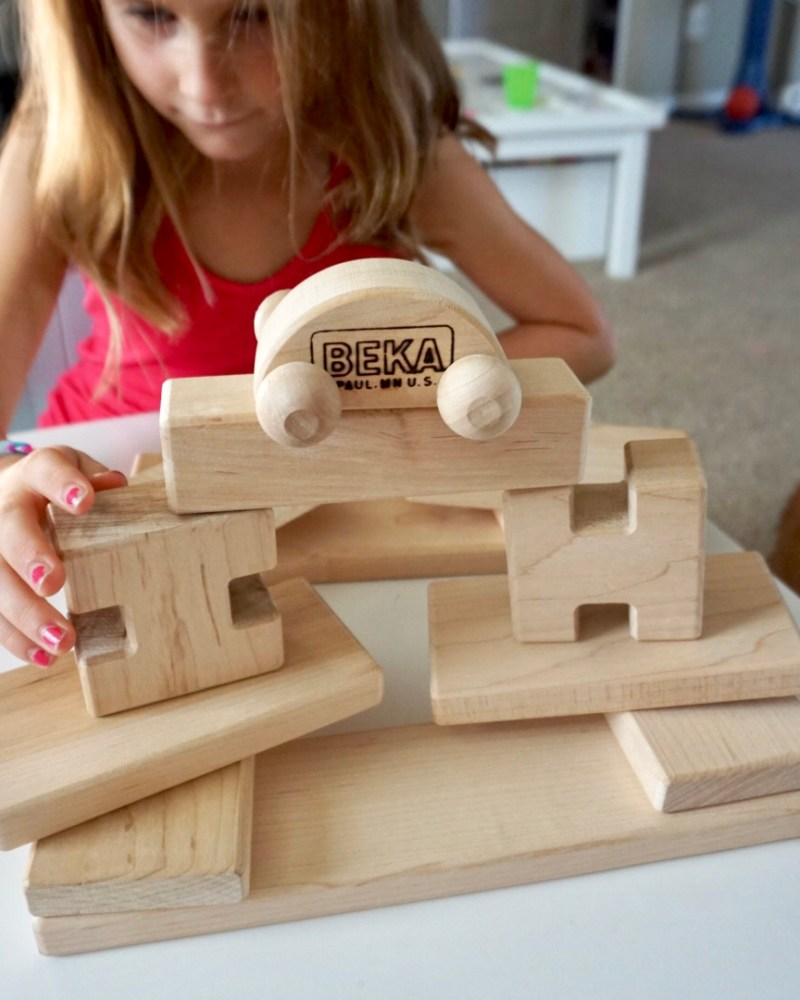 In The Thick Of It- Wood Blocks