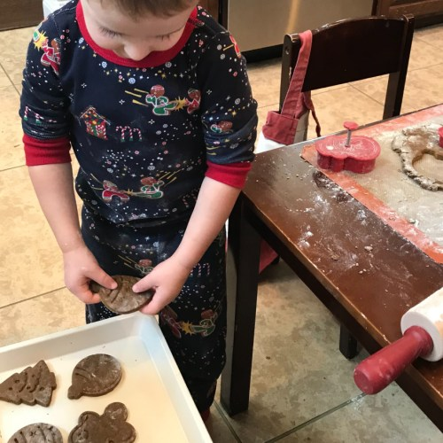 Christmas Cookies with Kids