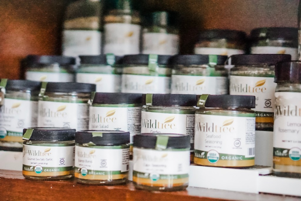 Wildtree spices, rubs and grapeseed oils for healthy everyday cooking.