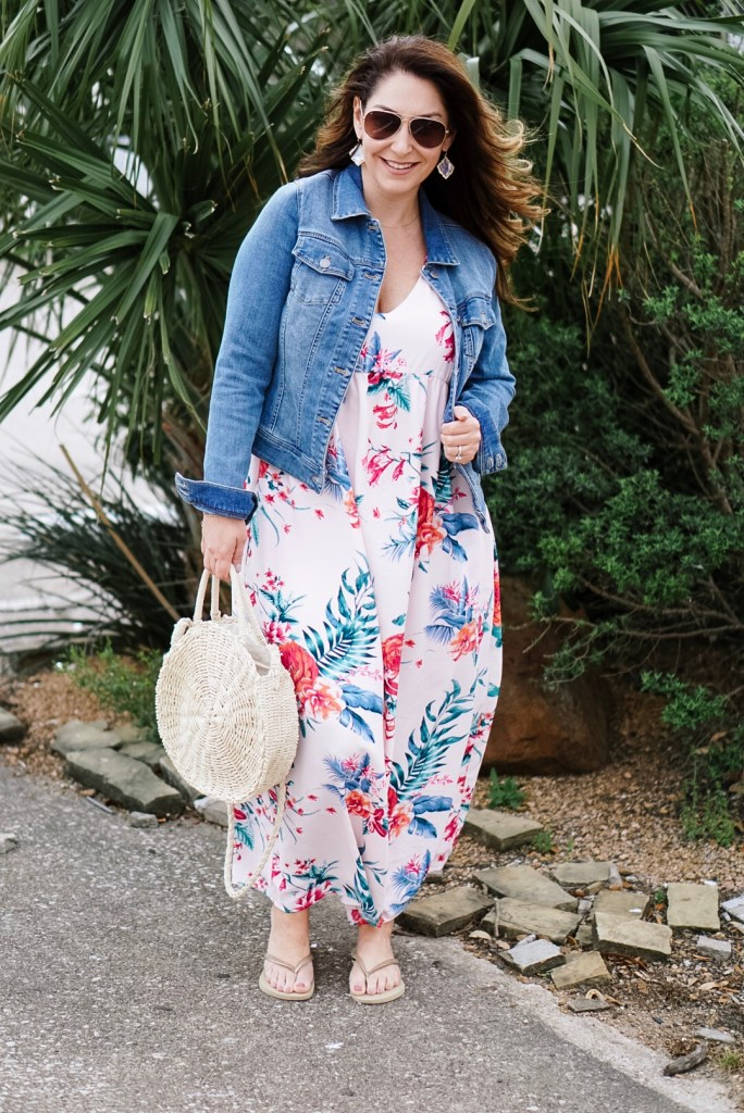 Summer Dresses 2019: This pink maxi dress is perfect for summer vacations