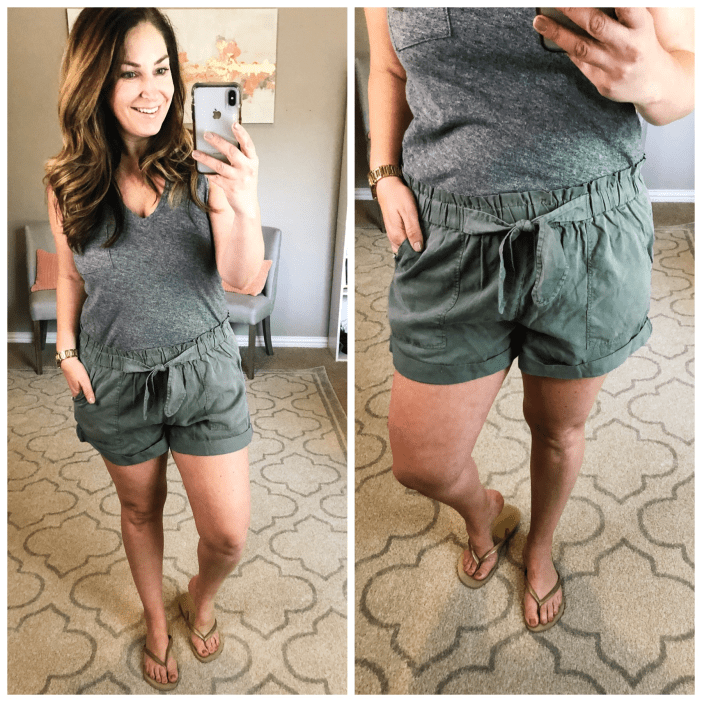 Best loose fit, camp style short- Aerie   these are great for the tie waist accent and paperboy style waistband.