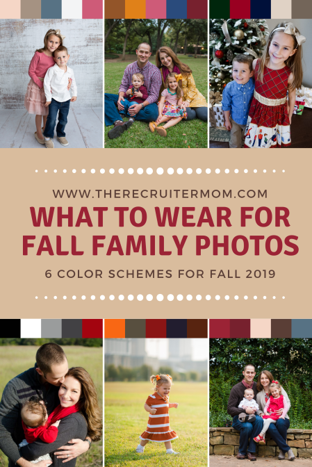 What to wear for fall family photos in 2019 www.therecruitermom.com #fallfamilyoutfits #fallfamily #familyphotos #buffaloplaid #holidayphotos