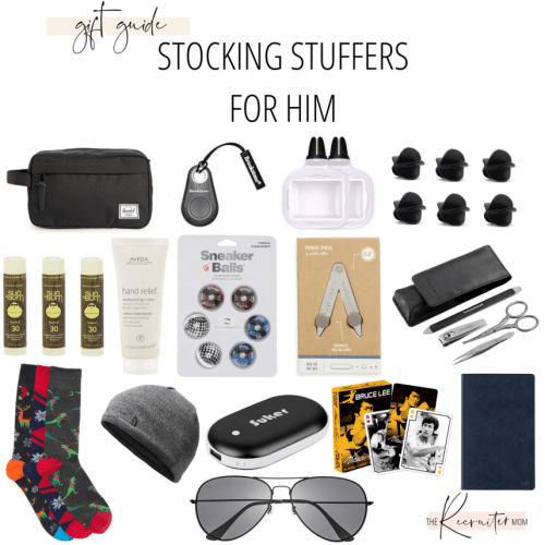Gift Guide // Stocking Stuffers for Him