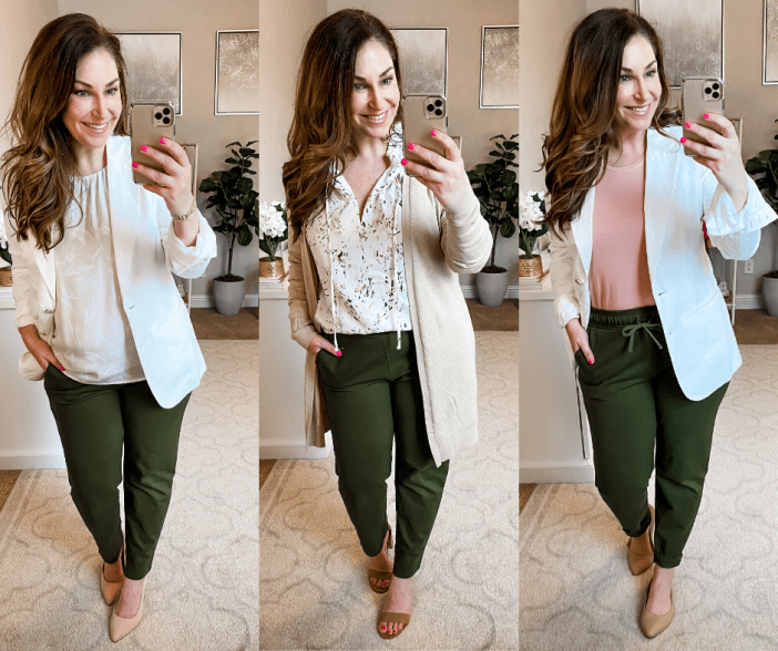Target Spring 2020 Workwear Capsule: 14 pieces for under $350 with over 14 outfits. #target #targetfashion #targetmademedoit #therecruitermom