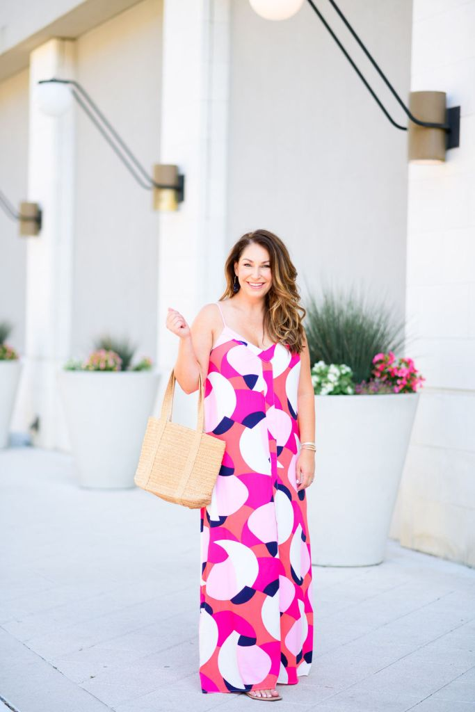 Gibson Look x Hi Sugarplum Cabana Strappy Maxi Dress // Celebrate Summer collection // Summer 2020