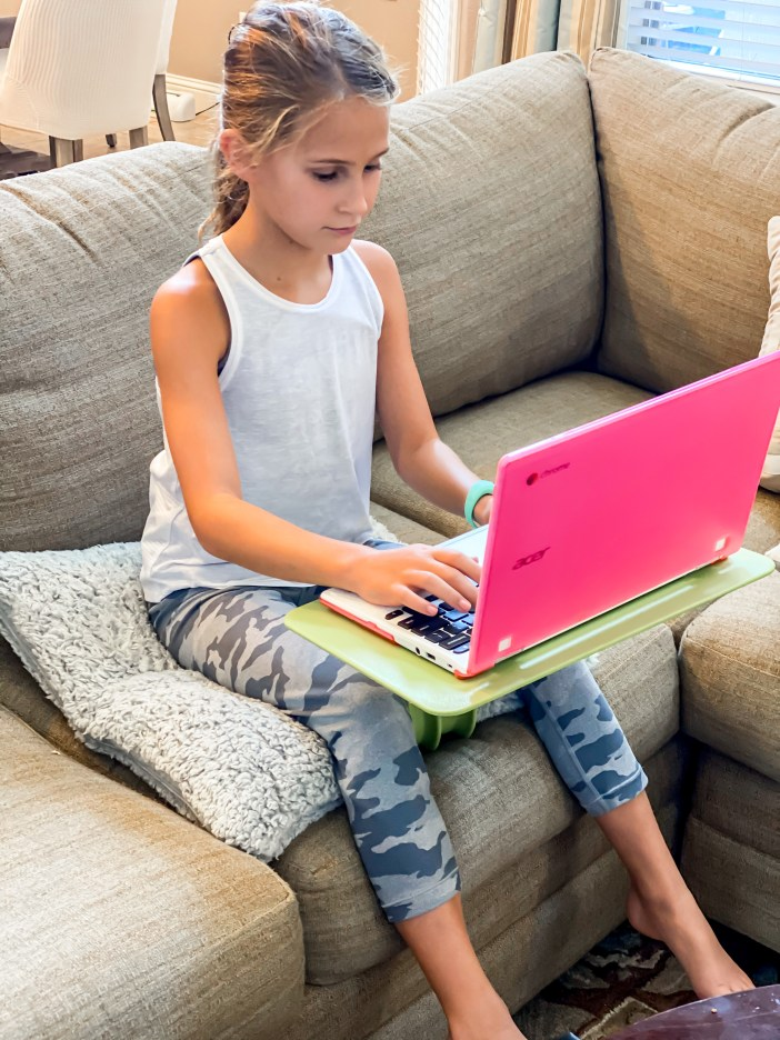 Kids portable desk from Amazon