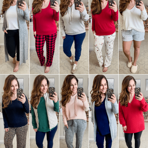10 Outfits: Cozy & Comfy