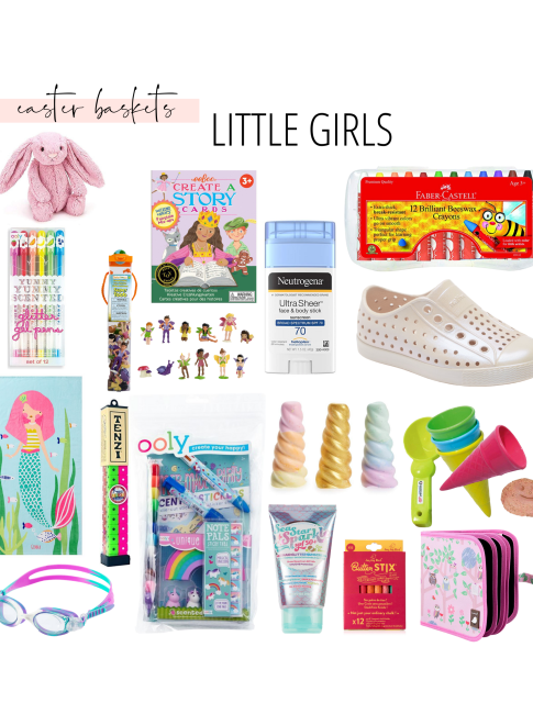 Copy of Copy of Copy of Girls Easter Basket Ideas