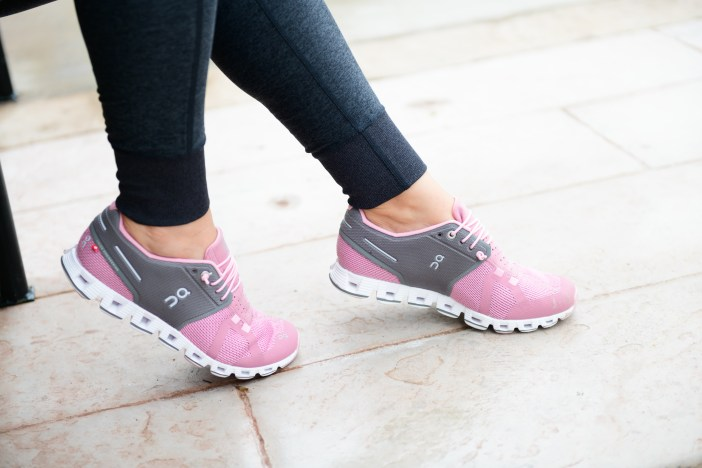 Comfortable pink sneakers #pinksneakers #tennishoes #pinktennisshoes #nordstromshoes #athleisure #athleticshoes #shoes