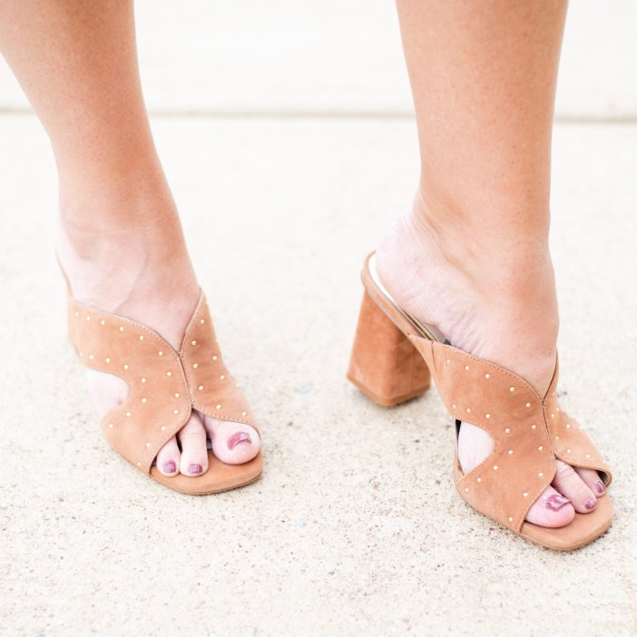 White House Black Market Studded Sandals #womensshoes #fallshoes #heels