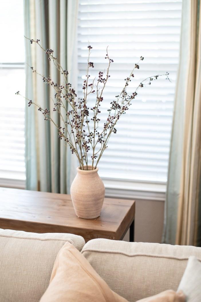 Target Artificial Berry Plant Arrangement #falldecor #fauxplant #fakeplant #affordablefalldecor #homedecor