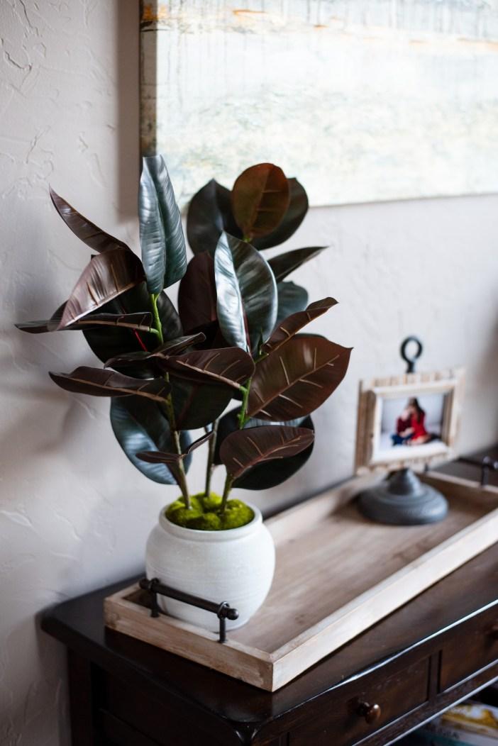 Target Artificial Plant Arrangement #falldecor #fauxplant #fakeplant #affordablefalldecor #homedecor