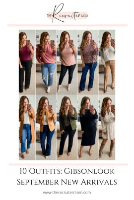 10 Outfits: Gibsonlook September New Arrivals