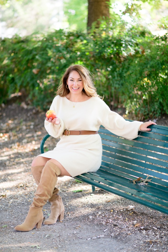 Fall Sweater Dress Outfit #kneehighboots #fallstyle #fallfashion #nordstrom #womensclothing