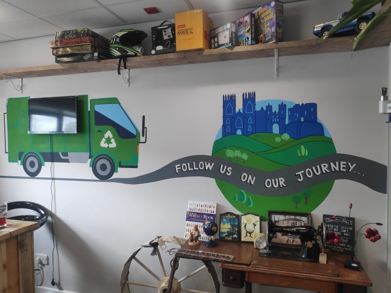 The Recycle Project front office