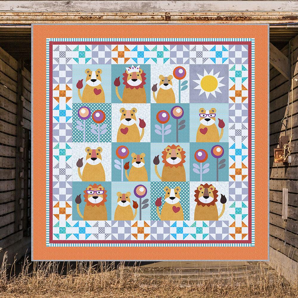 Jungle Quilt The Lion King Patterns Patchwork The Lion King Printed Quilt Pattern Quilts Applique Quilt Patterns Kids Quilts