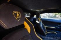 Lamborghini Aventador S seats