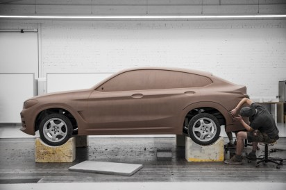 BMW X4 M40i Clay Model