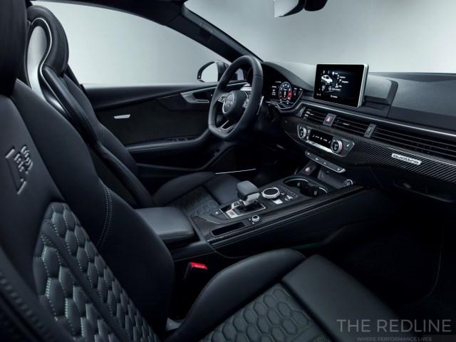 2018 Audi RS5 Sportback interior