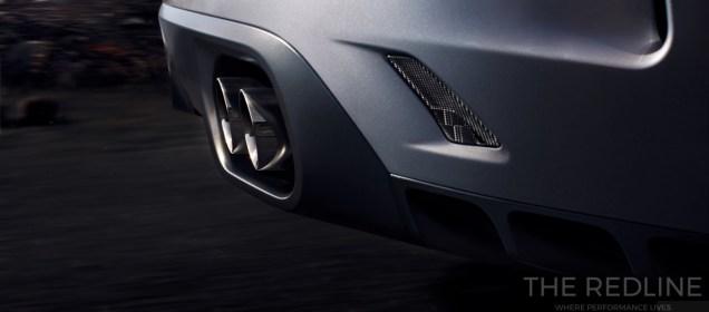 Jaguar F-Pace SVR exhaust