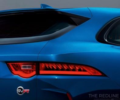 Jaguar F-Pace SVR taillight