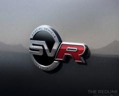 Jaguar F-Pace SVR badge