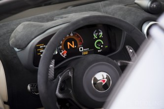 McLaren 570S dash