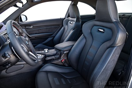 BMW M2 Competition seats
