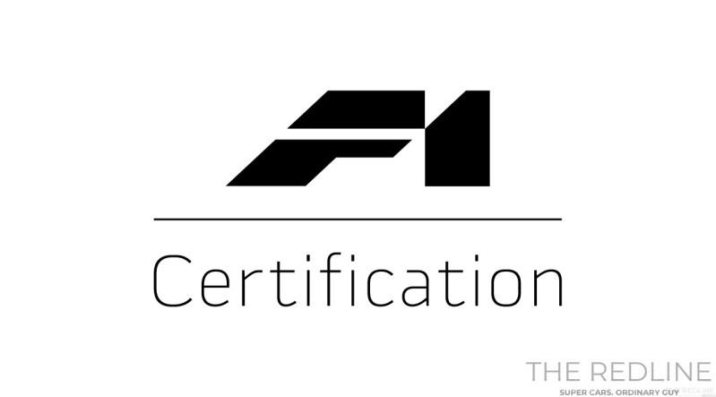 McLaren F1 Certification