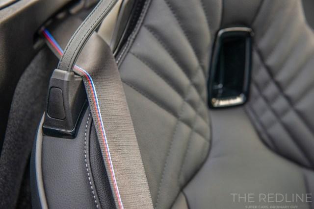 BMW Z4 2019 M Sport Seatbelts
