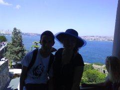 The view on Bosphorus