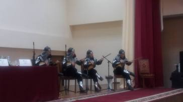 Dombra - traditional kazkhstani instrument
