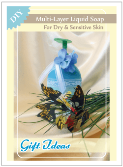 Gift Ideas: DIY Multi Layer Liquid Soap