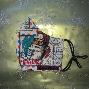 Mondkapje #Kerst Man Groot
