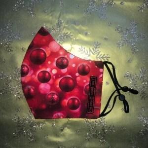 Mondkapje #Kerst Bal Klein