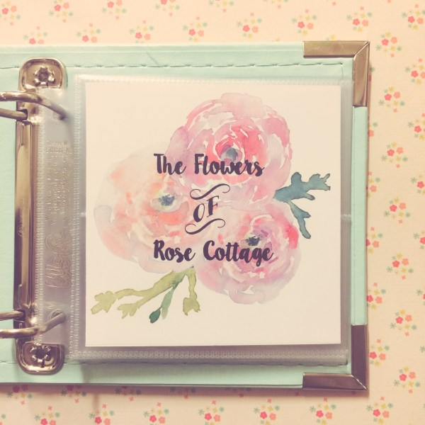 The Flowers of Rose Cottage mini album (the red wren)