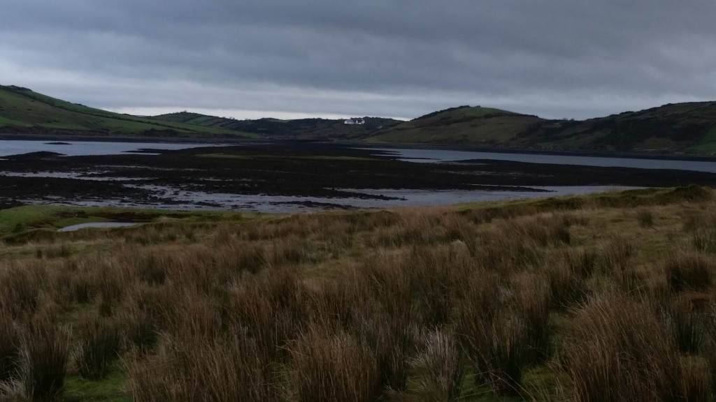 Looking towards the mainland from Collan More