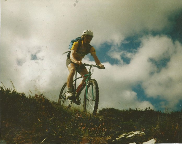 Mountain biking in the Wicklow Hills