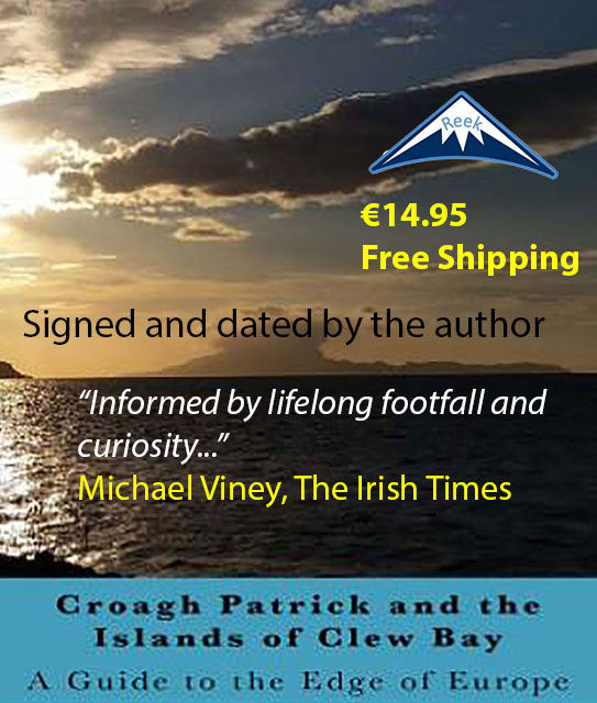 Book on the Wild Atlantic Way around Clew Bay in County Mayo, Ireland