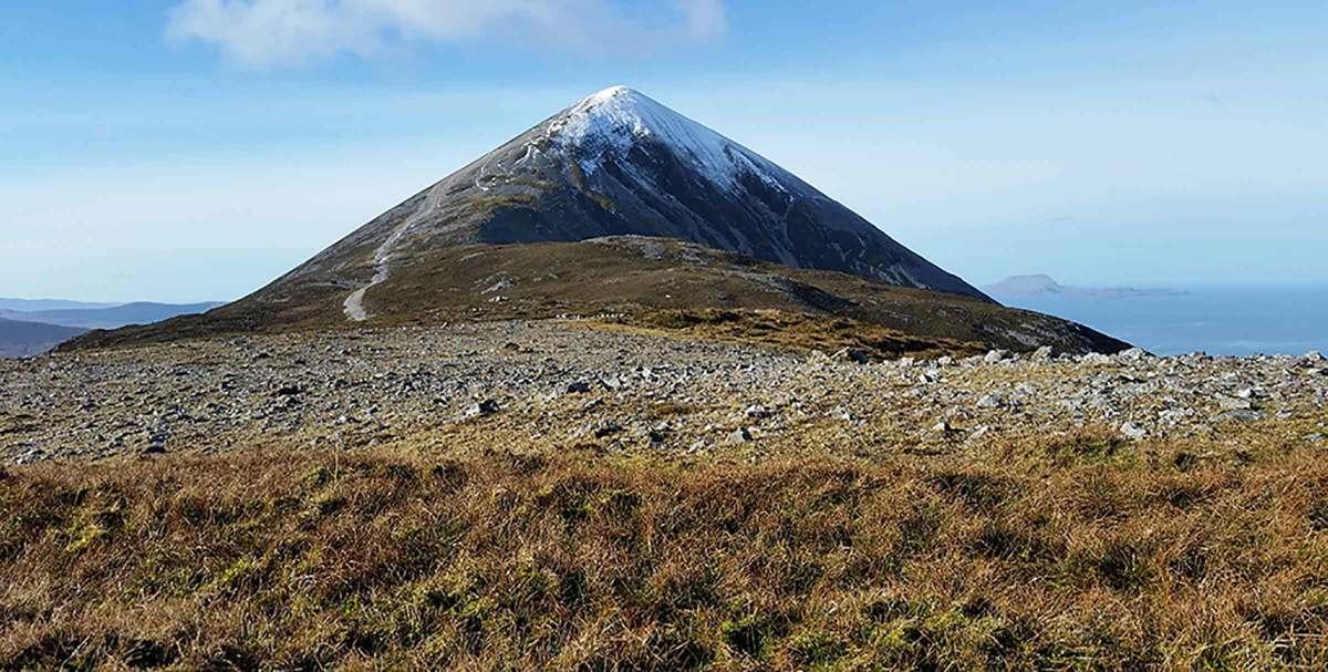Wild Atlantic Way Croagh Patrick Mayo Ireland